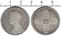 Изображение Монеты Великобритания 1 флорин 1849 Серебро VF Виктория