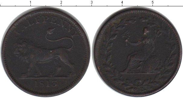 Картинка Монеты Великобритания 1/2 пенни Медь 1813