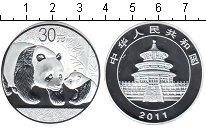 Изображение Мелочь Китай монетовидный жетон 2011 Посеребрение Proof-