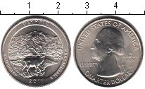 Изображение Мелочь США 1/4 доллара 2011 Медно-никель UNC- D. Национальный парк