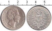 Изображение Монеты Бавария 2 марки 1877 Серебро
