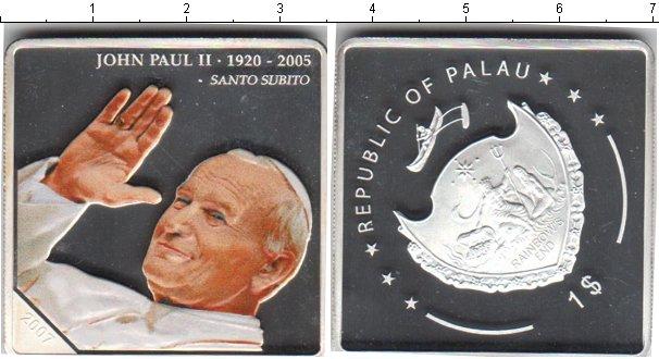 Картинка Монеты Палау 1 доллар Серебро 2005