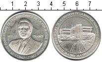Изображение Монеты Руанда 1000 франков 1989 Серебро Proof- 25-летие Национально