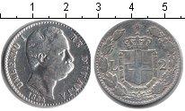Изображение Монеты Италия 2 лиры 1884 Серебро VF Умберто I
