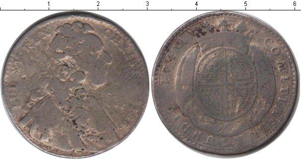 Картинка Монеты Франция 1 тестон Серебро 1740