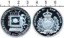 Изображение Монеты Сан-Марино 10000 лир 2001 Серебро Proof-
