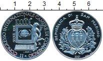 Изображение Монеты Сан-Марино 10.000 лир 2001 Серебро Proof- Сеул 2001