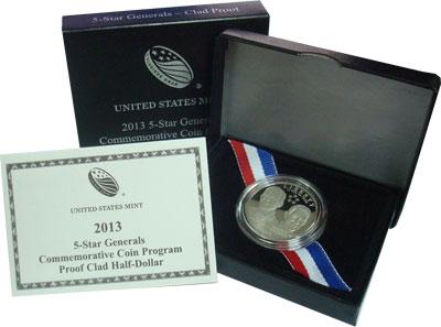 Изображение Подарочные наборы США Генералы 2013 Медно-никель Proof
