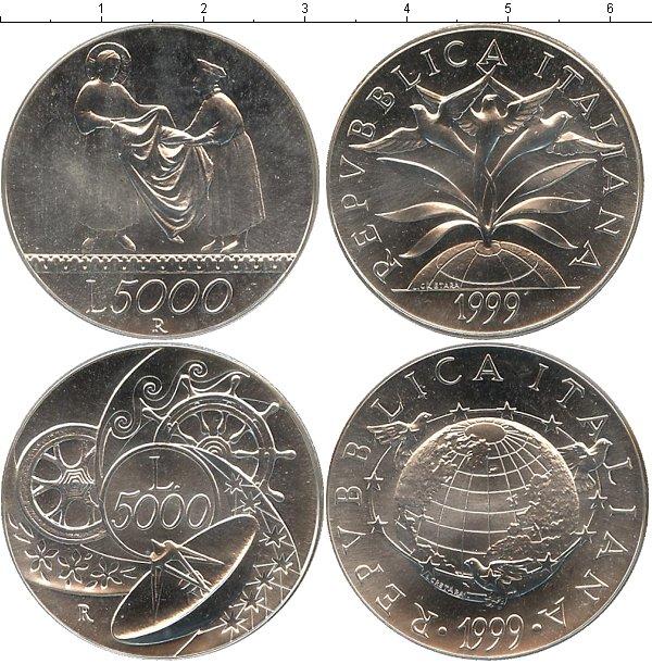 Картинка Подарочные наборы Италия Новое тысячелетие Серебро 1999