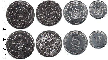 Изображение Наборы монет Бурунди Бурунди 1980-2011 0  UNC- В наборе 4 монеты но