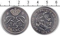 Изображение Мелочь Монако 5 франков 1971 Медно-никель XF Райнер III