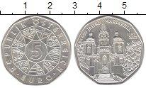 Изображение Монеты Австрия 5 евро 2007 Серебро UNC 200 лет Мариазелл