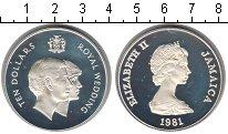 Изображение Монеты Ямайка 10 долларов 1981 Серебро Proof- Елизавета II. Короле