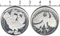 Изображение Мелочь ФРГ 5 марок 1976 Серебро Proof 300-летие смерти пис