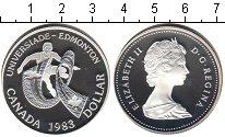 Изображение Мелочь Канада 1 доллар 1983 Серебро Proof-