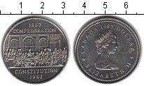 Изображение Мелочь Канада 1 доллар 1982 Медно-никель UNC- Елизавета II. Консти