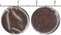 Изображение Монеты Швейцария 1 рапп 1834 Медь VF Кантон LUZERN