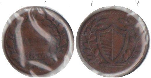Картинка Монеты Швейцария 1 рапп Медь 1834