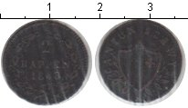 Изображение Монеты Швейцария 2 раппа 1843 Серебро  Кантон Швиц