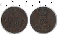 Изображение Монеты Ганновер 1 пфенниг 1798 Медь XF