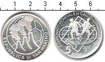 Изображение Монеты Сан-Марино 5 евро 2004 Серебро Proof Чемпионат мира по фу