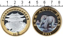 Изображение Монеты Северная Корея 20 вон 2011 Биметалл Proof