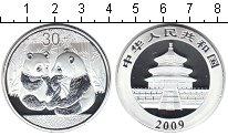 Изображение Мелочь Китай 30 юань 2009 Посеребрение Proof