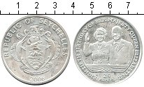 Изображение Монеты Сейшелы 25 рупий 2006 Серебро Proof- 80-летие Елизаветы I