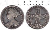 Изображение Монеты Великобритания 1/2 кроны 1707 Серебро VF