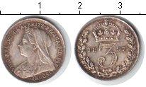 Изображение Монеты Великобритания 3 пенса 1897 Серебро XF Виктория