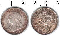 Изображение Монеты Великобритания 1 шиллинг 1900 Серебро XF Виктория