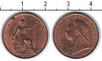 Изображение Монеты Великобритания 1 фартинг 1896 Медь UNC-