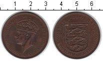 Изображение Монеты Остров Джерси 1/12 шиллинга 1937 Медь XF Георг VI