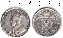 Изображение Монеты Кипр 18 пиастр 1921 Серебро XF Георг V