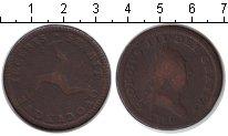 Изображение Монеты Остров Мэн 1 пенни 1786 Медь VF Георг III
