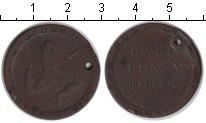 Изображение Монеты Остров Мэн 1/2 пенни 1831 Медь VF токен