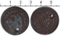 Изображение Монеты Остров Мэн 1/2 пенни 1733 Медь