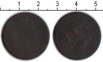 Изображение Монеты Великобритания Остров Мэн 1/2 пенни 1758 Медь VF