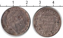 Изображение Монеты Ирландия 10 пенсов 1813 Серебро XF токен     Георг III