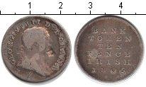 Изображение Монеты Ирландия 10 пенсов 1805 Серебро VF