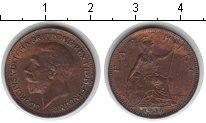 Изображение Монеты Великобритания 1 фартинг 1936 Медь XF Георг V