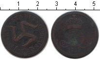 Изображение Монеты Остров Мэн 1/2 пенни 1758 Медь VF
