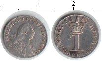 Изображение Монеты Великобритания 1 пенни 1800 Серебро XF