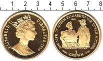 Изображение Монеты Гибралтар 1 крона 1999 Серебро Proof- Елизавета II. Первая