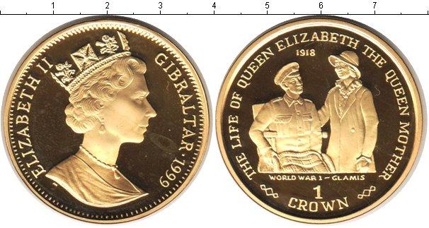 Картинка Монеты Гибралтар 1 крона Серебро 1999