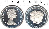 Изображение Монеты Великобритания 25 пенсов 1981 Серебро Proof