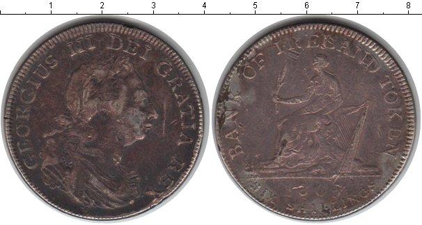 Картинка Монеты Ирландия 6 пенсов Серебро 1807