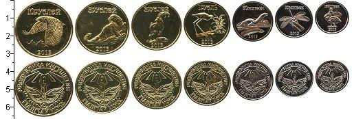 Изображение Наборы монет Россия Ингушетия 2013 2013  UNC- В наборе 7 монет ном