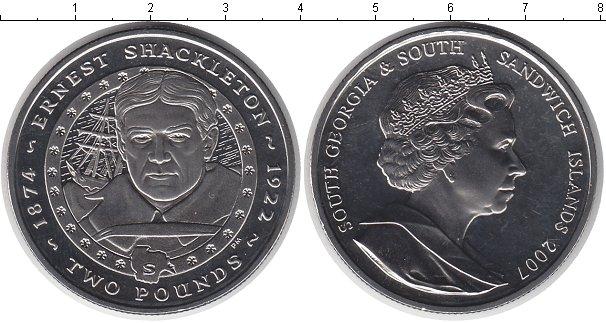 Картинка Монеты Сендвичевы острова 2 фунта  2007