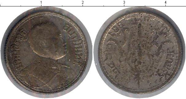 Картинка Монеты Таиланд 1 бат Серебро 0